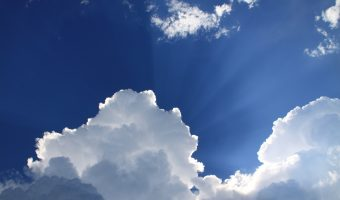 An image of clouds, representing the Practical 365 emphasis on cloud computing.