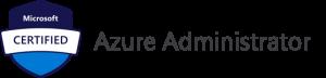 Azure Certifications: Azure Administrator logo.