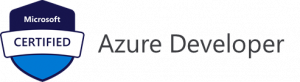 Azure Certifications developer logo.