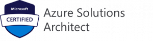 Picture of Azure Solutions Architect logo.