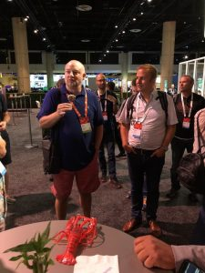 Lobsters on show at Microsoft Ignite