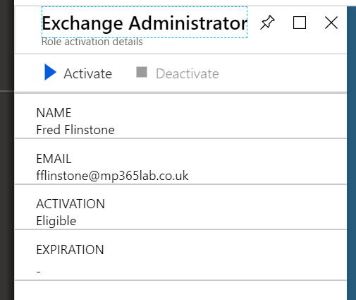 Exchange Administrator screenshot