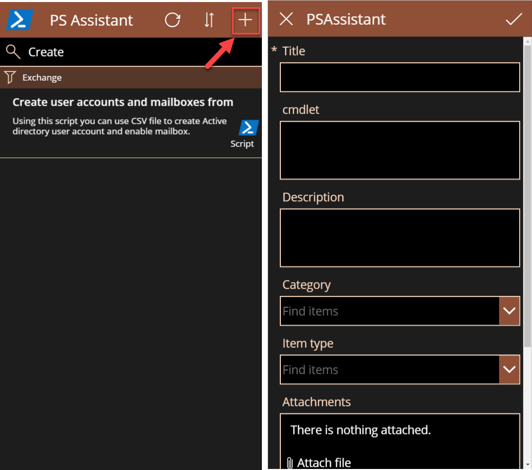 PSAssistant screenshot