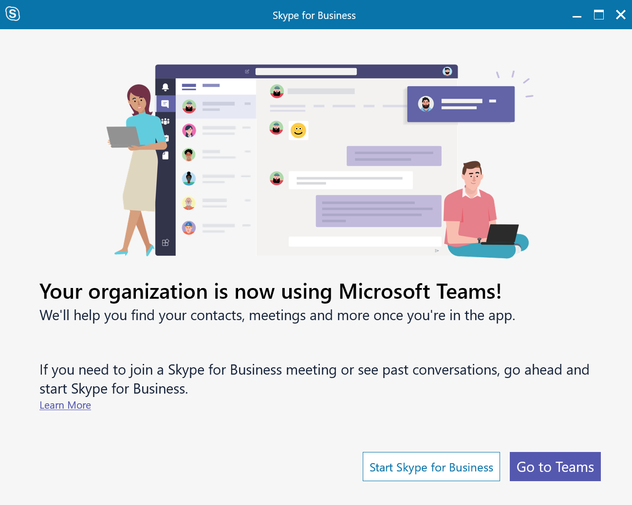 Enabling Skype for Business in a new Teams-Only Office