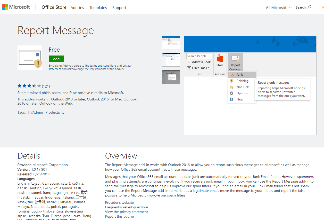 How to report on suspicious emails in Office 365 - Part 1