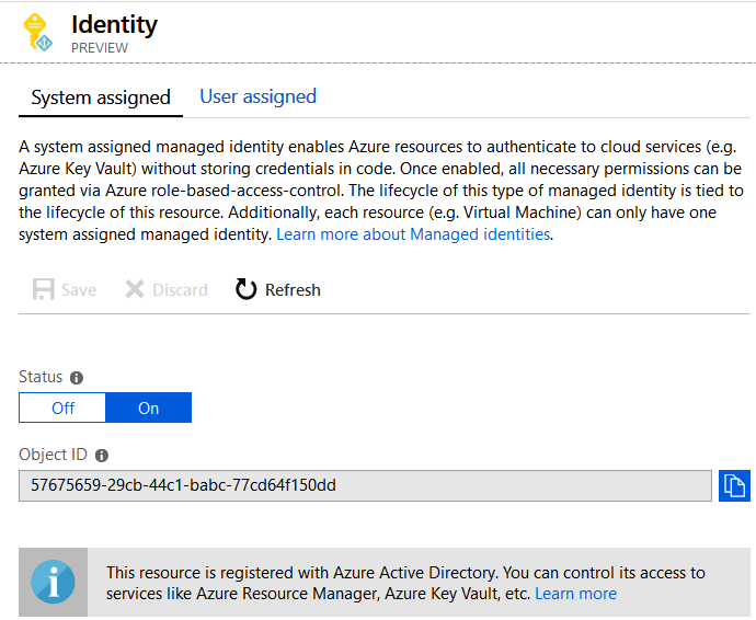 Securing sensitive information in Azure Functions with the