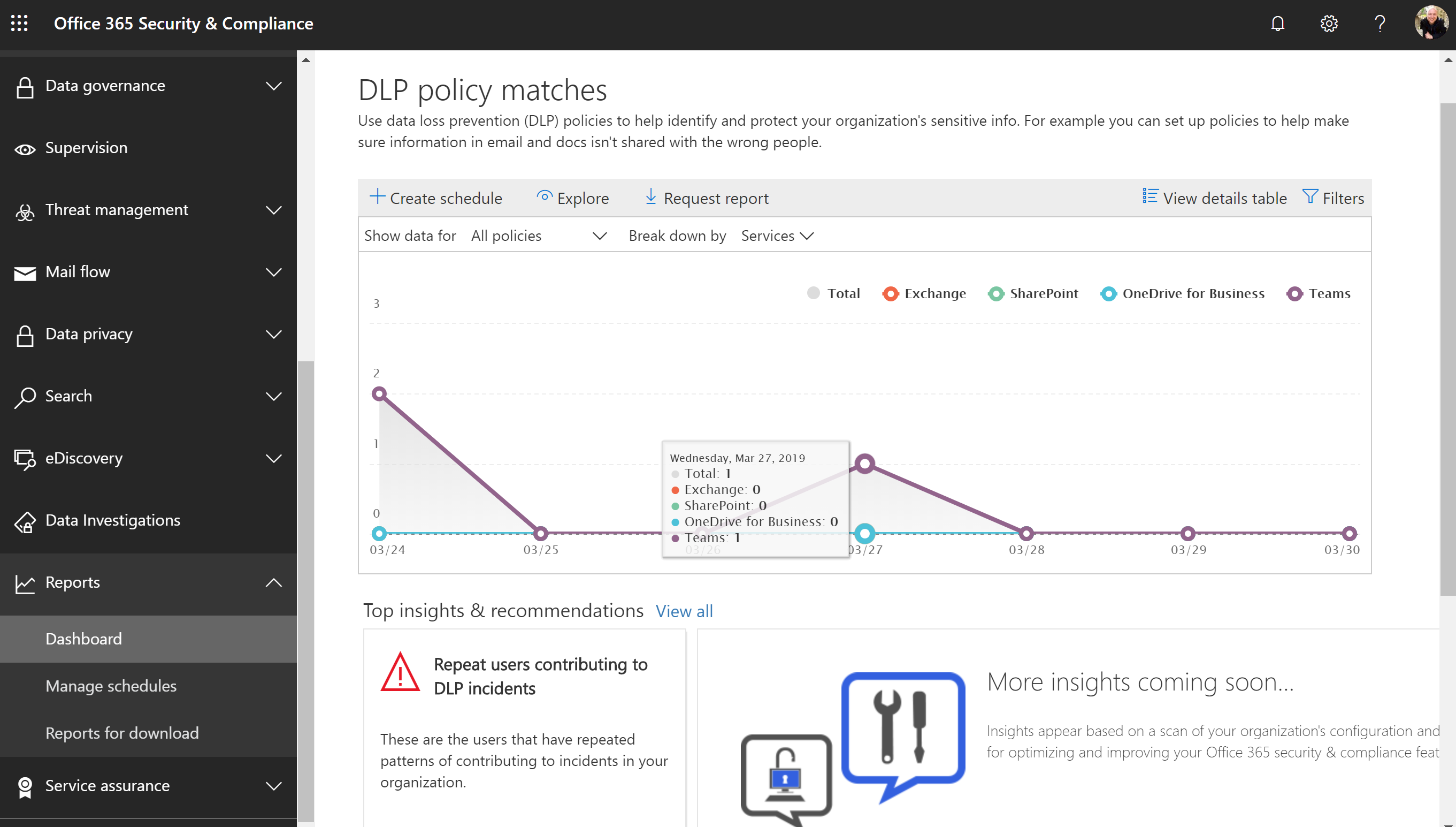 Configuring and using Data Loss Prevention in Microsoft Teams