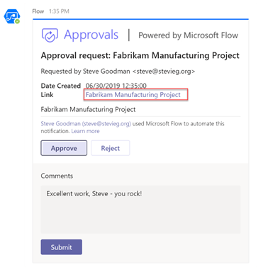 Automating document creation and approvals with Teams and Microsoft