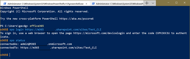 The Office 365 CLI: a new administration paradigm