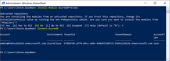 Powershell script for Offie 365 groups classification