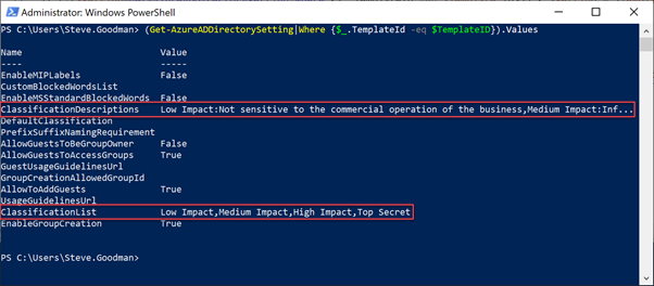PowerShell Script for Office 365 Groups