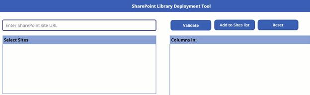 SharePoint site URL