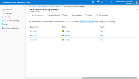 Azure Active Directory Admin Center