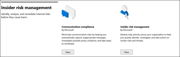 Communication compliance feature