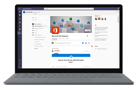 Yammer app for Teams