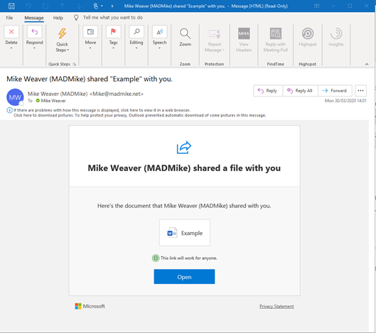 Office 365 Tenant to Tenant Migration Challenges – Sharing Links