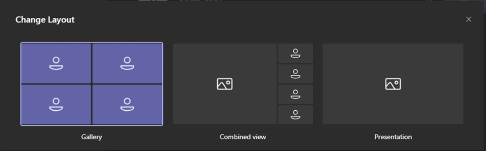 Switch to video gallery when content is present